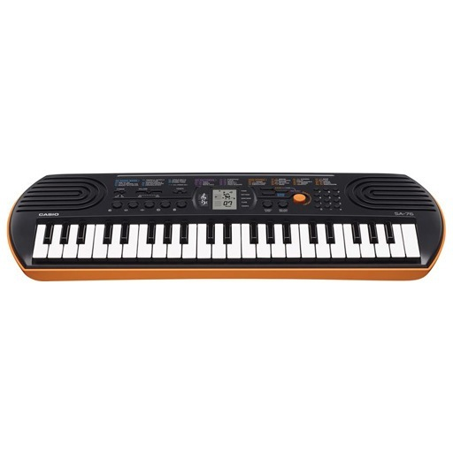 Casio SA-76 44-Key Mini Keyboard - Bananas At Large®