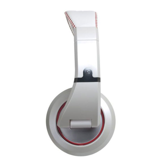 CAD MH510W Closed-Back Studio Headphones - White/Red - Bananas At Large®