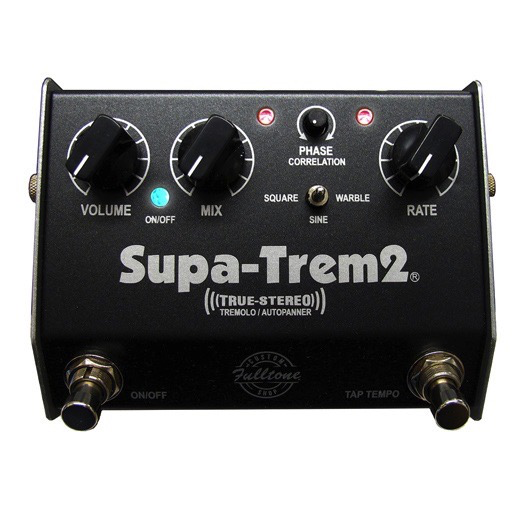 Fulltone Custom Shop Supa-Trem2 Stereo Tremolo / Auto-Panner Pedal - Bananas at Large