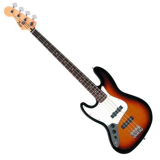 Fender Standard Jazz Bass Lefty 3TSB (No Bag) - Bananas at Large