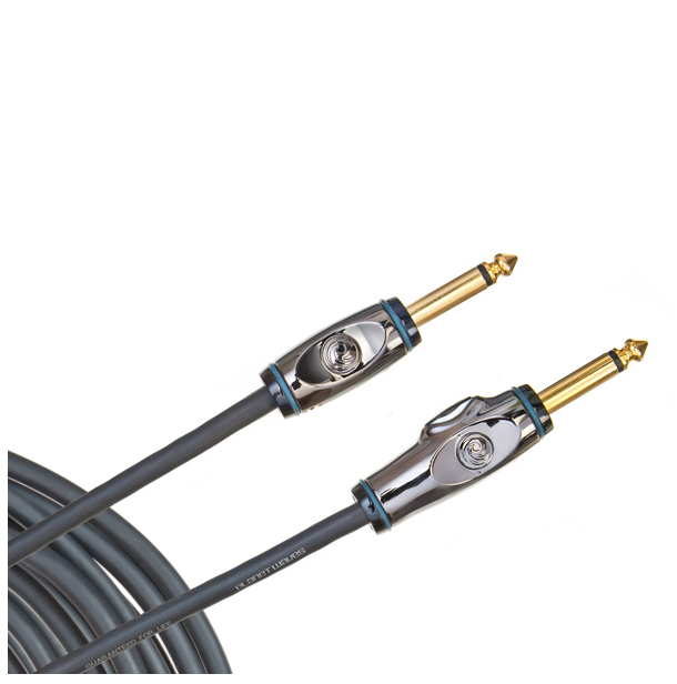 D'Addario PW-AG-15 Planet Waves Circuit Breaker Instrument Cable Straight 15 ft. - Bananas At Large®
