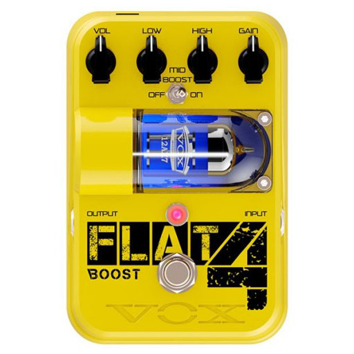 Vox TG1FL4BT Flat 4 Boost - Full-Range Booster and Overdrive Pedal - Bananas at Large