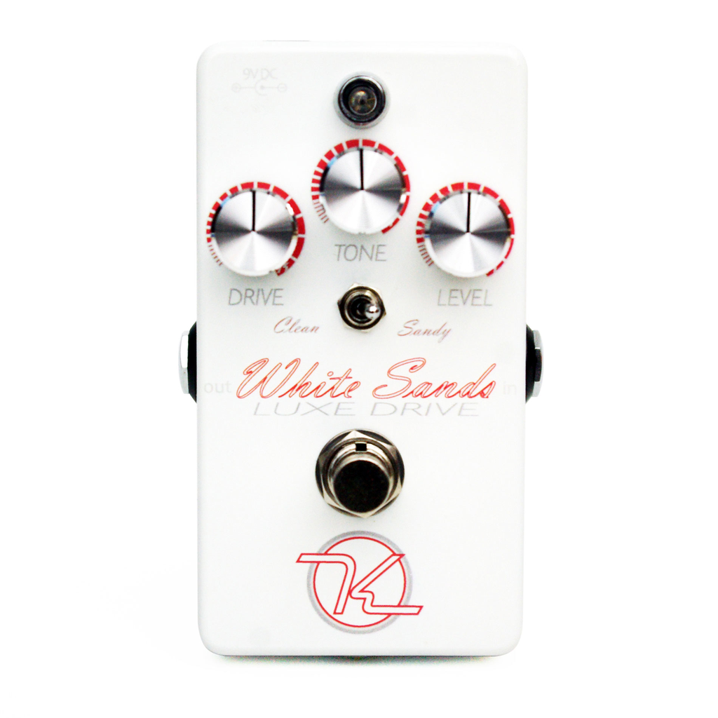 Keeley KWSLD White Sands Luxe Drive Low to Medium Gain Overdrive - Bananas At Large®