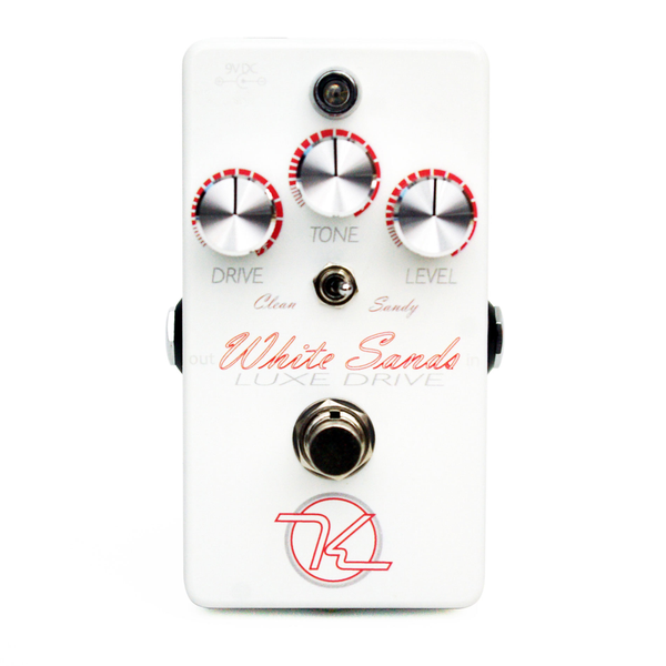 Keeley KWSLD White Sands Luxe Drive Low to Medium Gain Overdrive - Bananas at Large