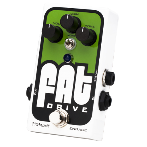 Pigtronix FAT Drive Tube Sound Overdrive Pedal - Bananas at Large