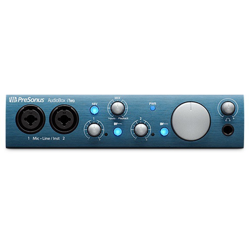 Presonus AudioBox iTwo Audio Interface, Compatible with iOS Devices - Bananas at Large