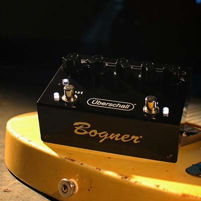Bogner Uberschall Super High Gain Distortion and Boost Pedal - Bananas at Large