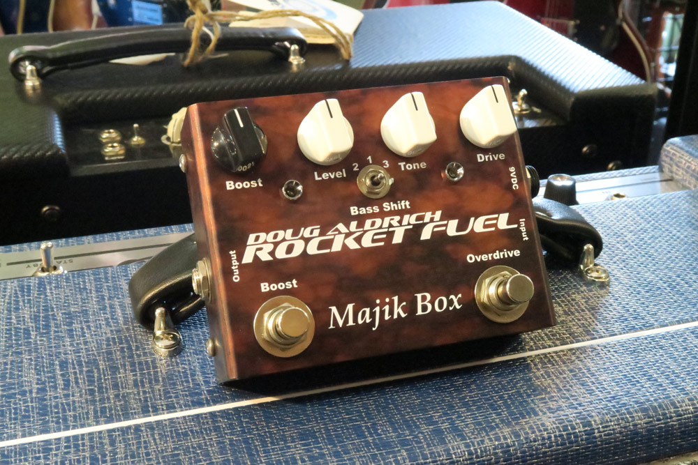 Majik Box Doug Aldrich Rocket Fuel Ltd 5th Anniversary Edition Pedal RFLTD (Pre-Owned) - Bananas at Large - 1
