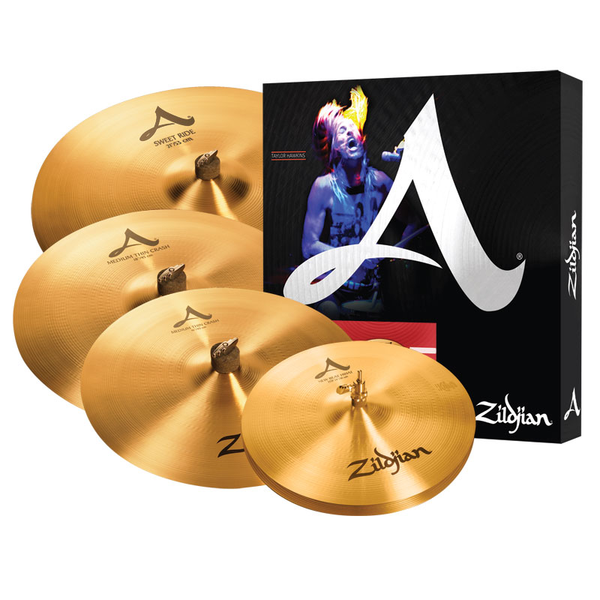 Zildjian A391 Box Cymbal Set - Bananas at Large