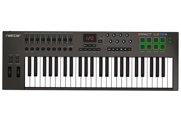 Nektar Impact LX49+ 49-Key USB Keyboard Controller with Nektar DAW Integration