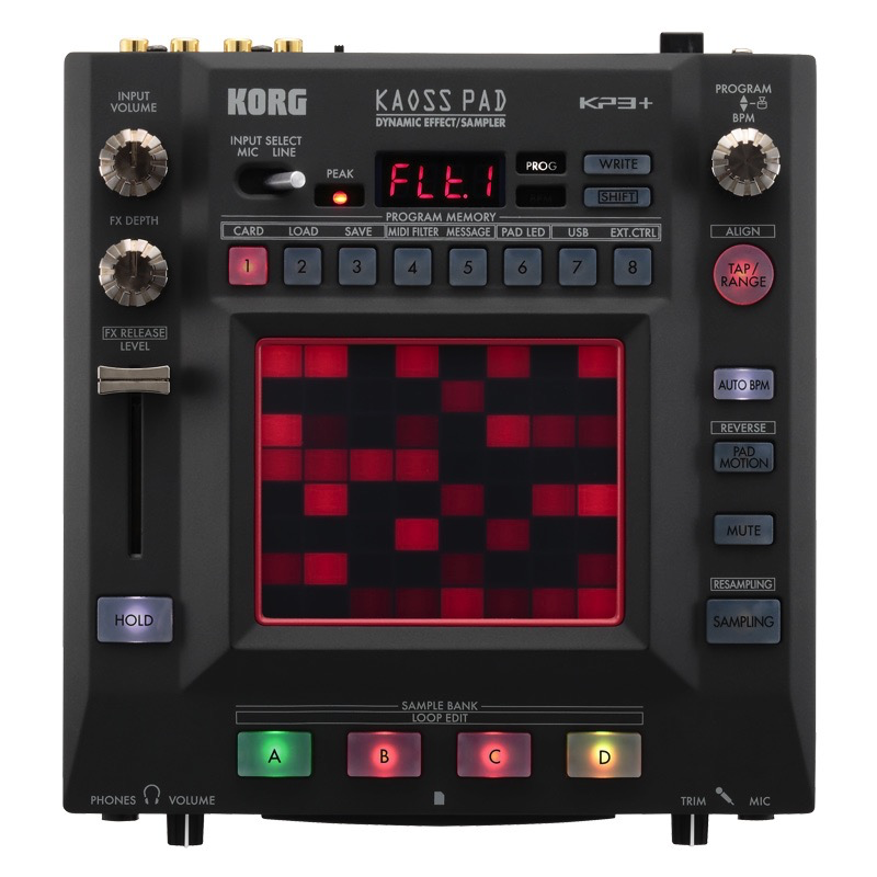 Korg KP3-PLUS KAOSS Pad Dynamic Effects Sampler - Bananas At Large®