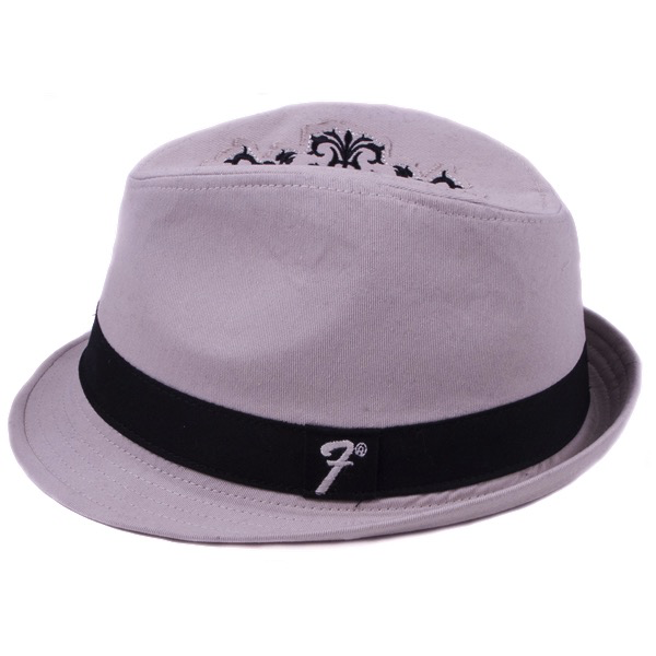 Fender Filigree Fedora, Khaki, S/M - Bananas At Large®
