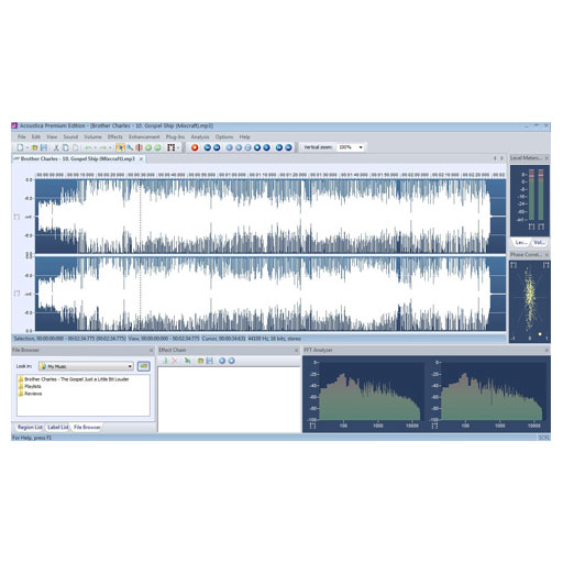 Acon Acoustica Premium Comprehensive 8-channel Audio Editor [Download] - Bananas at Large