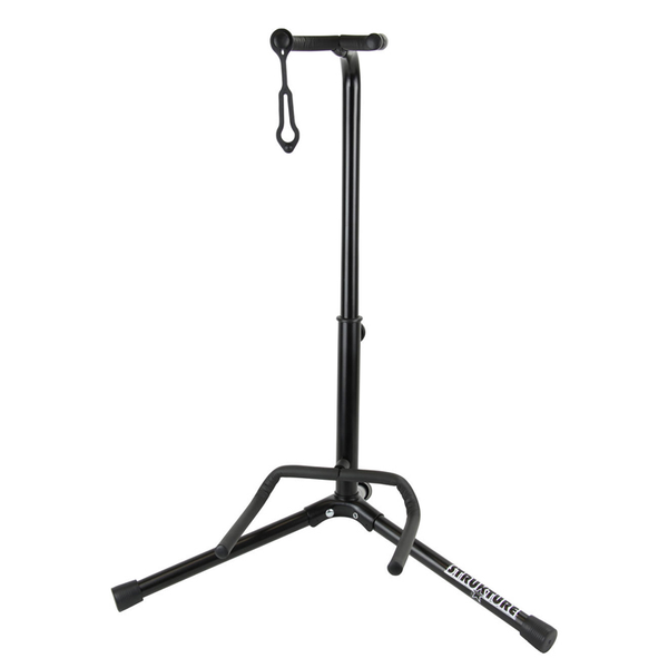 Strukture SGS2 Traditional Guitar Stand - Matte black - Bananas at Large