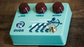 RYRA The Klone Pedal Handwired Klon Clone Pedal Sea Foam Green