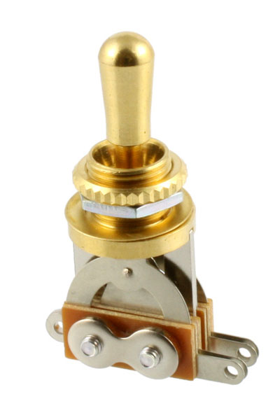 All Parts Gold Short Straight Toggle Switch - Bananas at Large