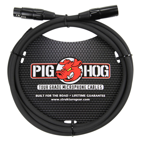 Pig Hog PHM6 8mm Mic Cable, 6ft XLR - Bananas at Large