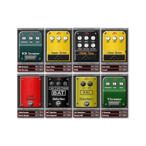 Audiffex Guitar Line Multi Drive [Download] - Bananas At Large®