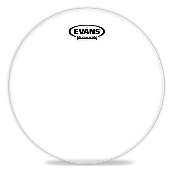 Evans ETP-G1CLR-F G1 Clear Tom Drum Head Pack-Fusion - 10 inch, 12 inch, 14 inch - Bananas at Large - 1