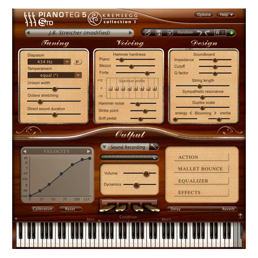 PIANOTEQ Kremsegg Collection 1 Dohnal Besendorfer Erand Steicher Pianos [Download] - Bananas at Large