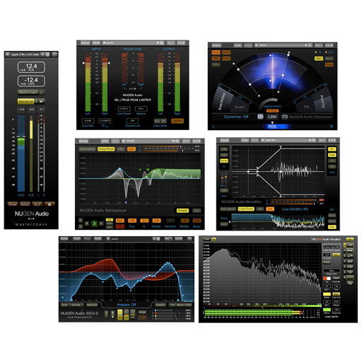 NUGEN Audio Producer Pack Essential Tools for Producers [Download] - Bananas at Large