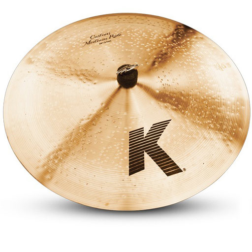 Zildjian K0854 20 in. K Custom Medium Ride Cymbal - Bananas at Large