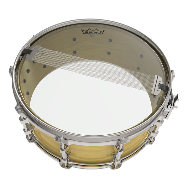 Remo 10 in. Ambassador Hazy Snare Side Drum Head - Bananas at Large - 2