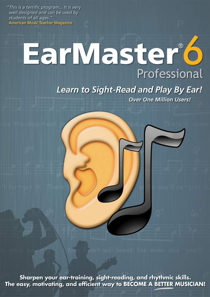 eMedia EarMaster Pro 6 - WIN/MAC [Download] - Bananas at Large - 2