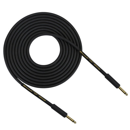 Rapco HOG-20B Road Hog Series 20 Feet Instrument Cable, Straight - Bananas at Large