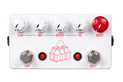 JHS The Milkman Echo/Slap Delay and Boost Pedal