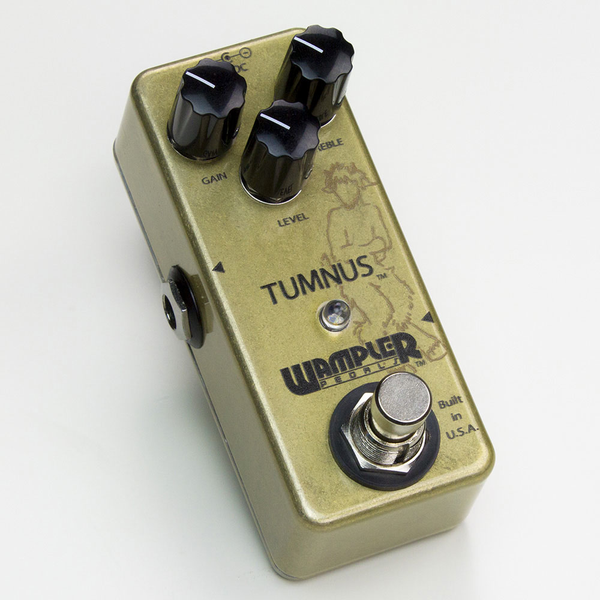 Wampler Tumnus Overdrive/Boost Pedal - Bananas at Large