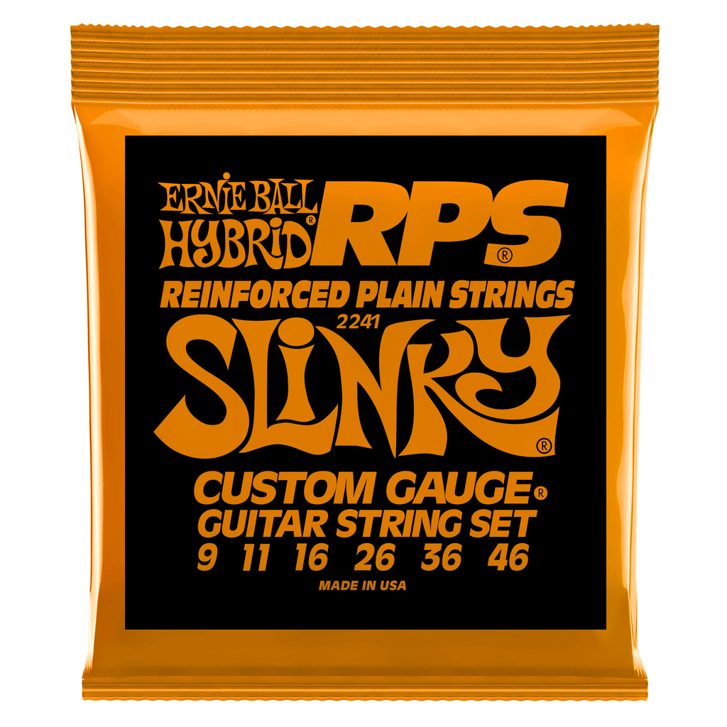 Ernie Ball Hybrid Slinky RPS Nickel Wound Electric Guitar Strings - Bananas at Large