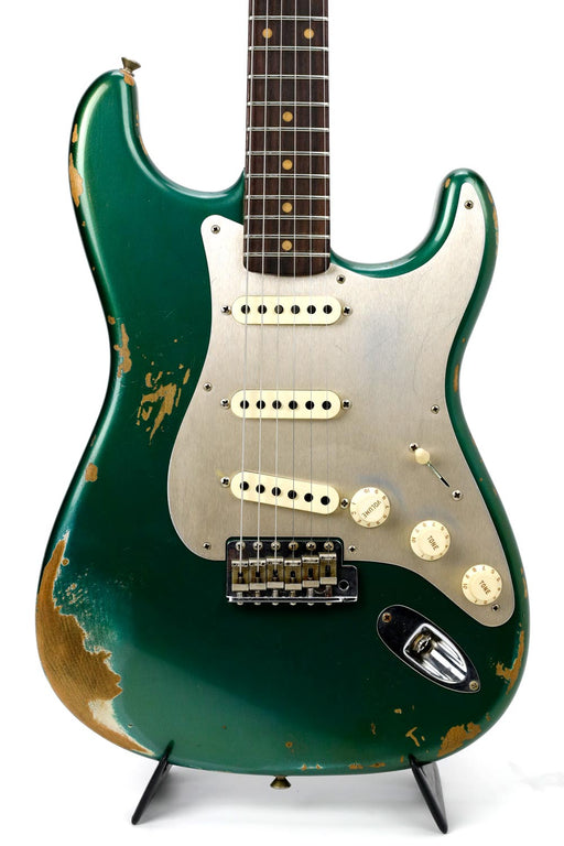 Fender Custom Shop 2017 LTD '59 Stratocaster - Heavy Relic Aged Sherwood Green Metallic
