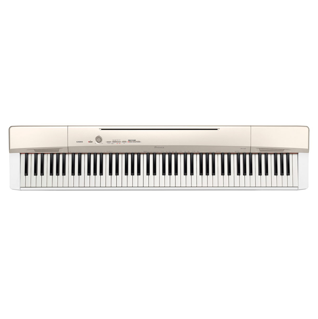 Casio PX-160GD Privia 88 Key Digital Piano - Champagne Gold - Bananas At Large®