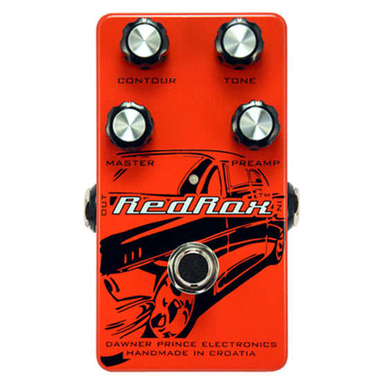 Dawner Prince Red Rox Distortion Pedal