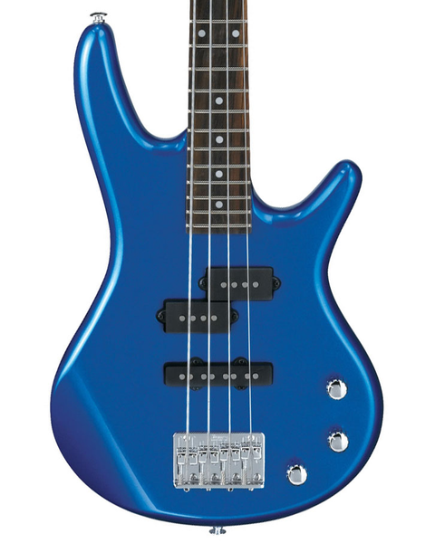 Ibanez GSRM20 Mikr0 Electric 4 String Bass - Starlight Blue - Bananas at Large - 1