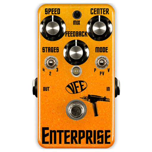 VFE Enterprise V2 JFET Phaser Pedal - Bananas at Large