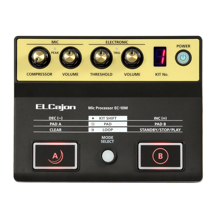 Roland EC-10M ELCajon Mic Processor - Bananas at Large - 1