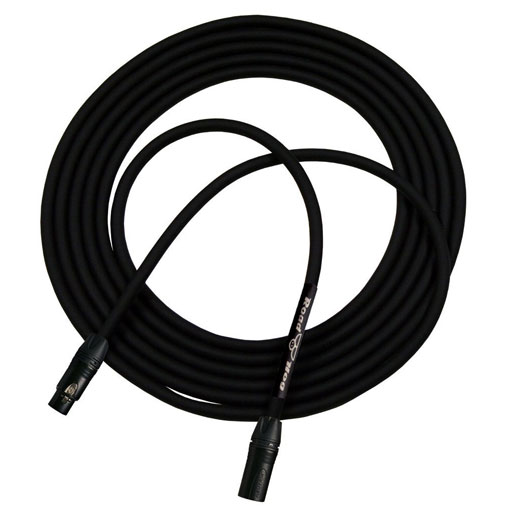 Rapco HOGM Road Hog Series 20 Feet Microphone Cable - Bananas at Large