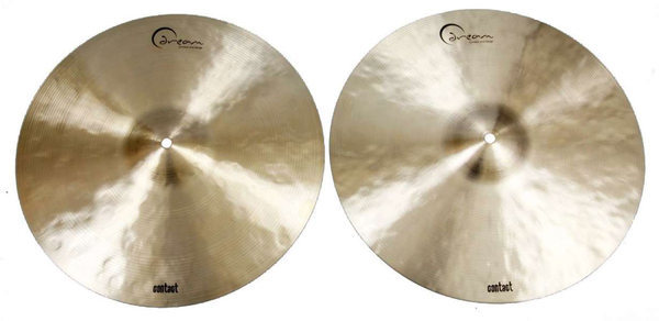 Dream Cymbals C-HH16 Contact Series 16 in. Hi Hat Cymbals