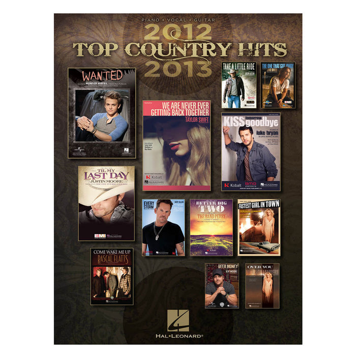 Top Country Hits 2012 2013 Piano Vocal Guitar