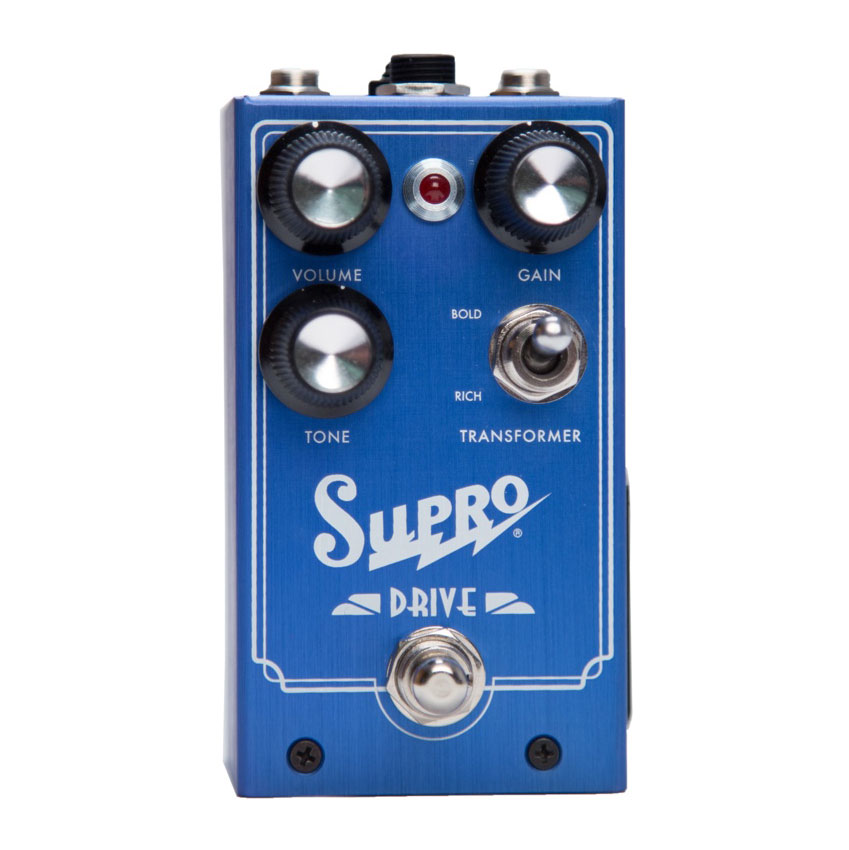 Supro 1305 Drive Pedal - Bananas at Large