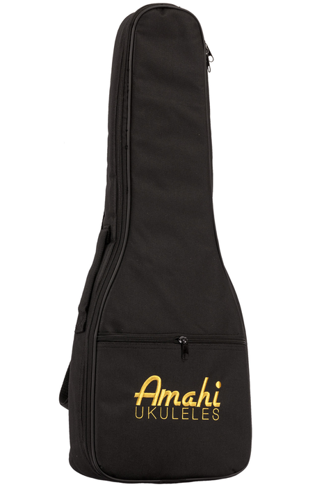 Amahi UK217C Mahogany Series White Binding Concert Ukulele with Gig Bag - Bananas at Large - 2