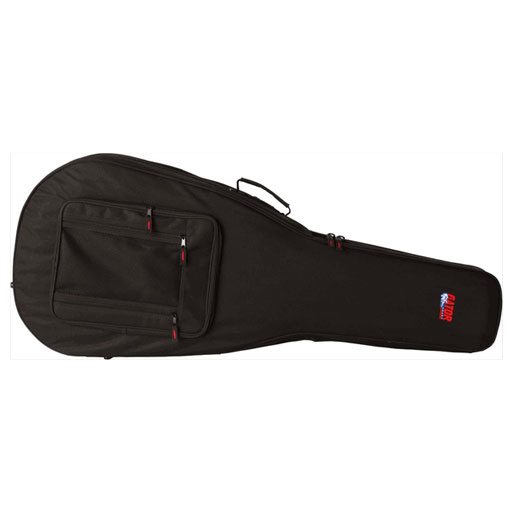 Rigid EPS Polyfoam Lightweight Case for 12-String Dreadnought Guitars - Bananas at Large