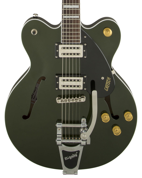 Gretsch G2622T Streamliner Center Block with Bigsby and Broad'Tron Pickups - Torino Green