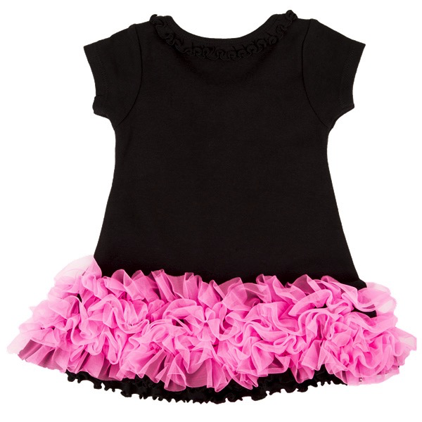 Fender Rock N Roll Princess Dress, Black, 24 Months - Bananas At Large®