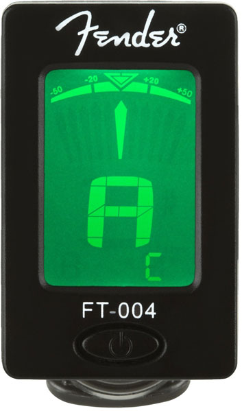 Fender FT-004 Clip-on Chromatic Tuner - Bananas at Large - 1