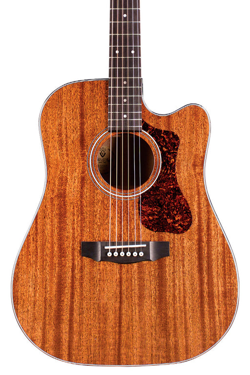 Guild D-120CE All Solid Acoustic Guitar, Natural Gloss