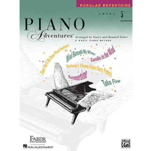 Hal Leonard Piano Adventures Level 5 Popular Repertoire Book - Bananas At Large®