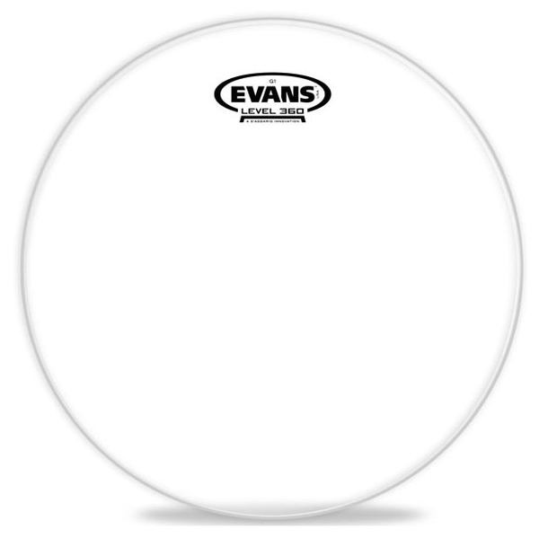 Evans ETP-G1CLR-S G1 Clear Tom Drum Head Pack-Standard - 12 inch, 14 inch, 16 inch - Bananas at Large - 1